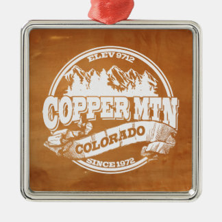 Copper Mountain Old Circle Copper Christmas Ornament