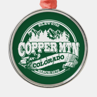 Copper Mountain Old Circle Green Christmas Ornament