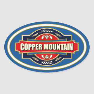 Copper Mountain Old Label