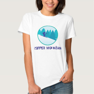 Copper Mountain Skier T-shirts