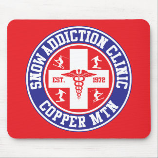 Copper Mountain Snow Addiction Clinic Mouse Pad