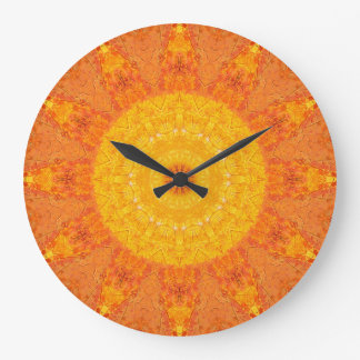 Copper Patina Mandala 00052-2 Wall Clock