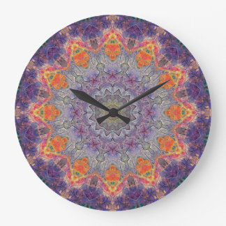 Copper Patina Mandala 00237-2 Wallclock