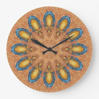 Copper Patina Mandala 0060-1 Wall Clock