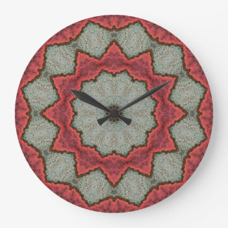 Copper Patina Mandala 04890-1 Large Clock