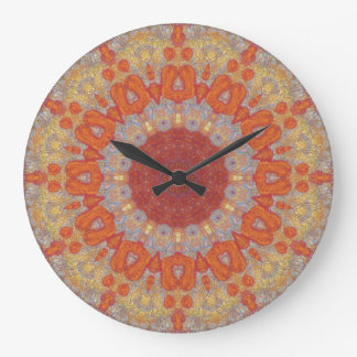 Copper Patina Mandala 05834-1 Wallclocks