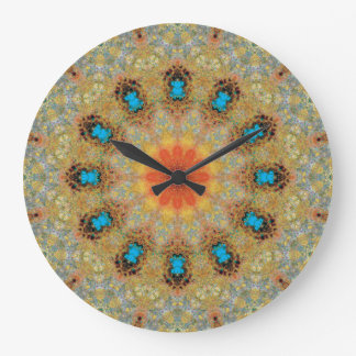 Copper Patina Mandala 06106-3 Clocks