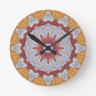 Copper Patina Mandala 07063-1 Wall Clocks