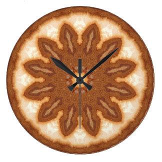 Copper Patina Mandala 09316-1 Large Clock
