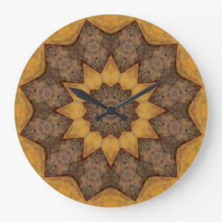 Copper Patina Mandala 09943-1 Wallclocks