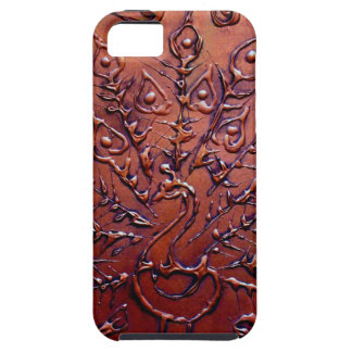 Copper Peacock iPhone 5 Cover