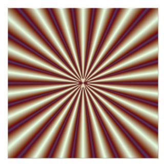 Copper Pleats Photo Print