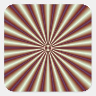 Copper Pleats Sticker