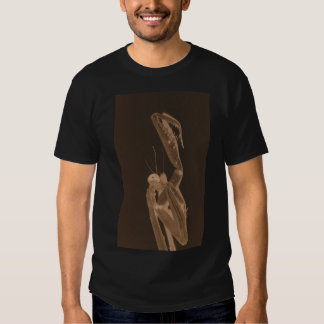Copper Praying Mantis 2 by KLM Tee Shirt