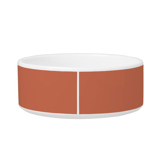 Copper Red Exclusive One Colour Cat Water Bowls