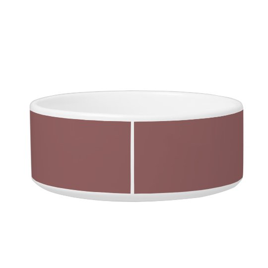 Copper Rose Exclusive Colour Matching Cat Food Bowls
