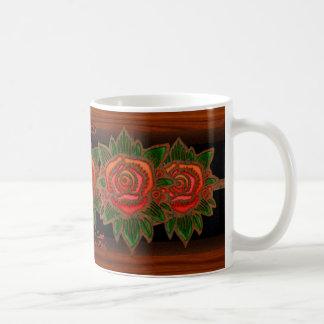 Copper Rose (Personalized) Coffee Mug