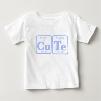 Copper Tellurium (CuTe) -- Blue Baby T-Shirt