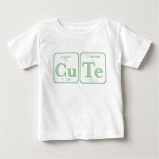 Copper Tellurium (CuTe) -- Green Baby T-Shirt