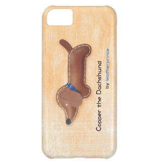 Copper the Dachshund iPhone 5 case