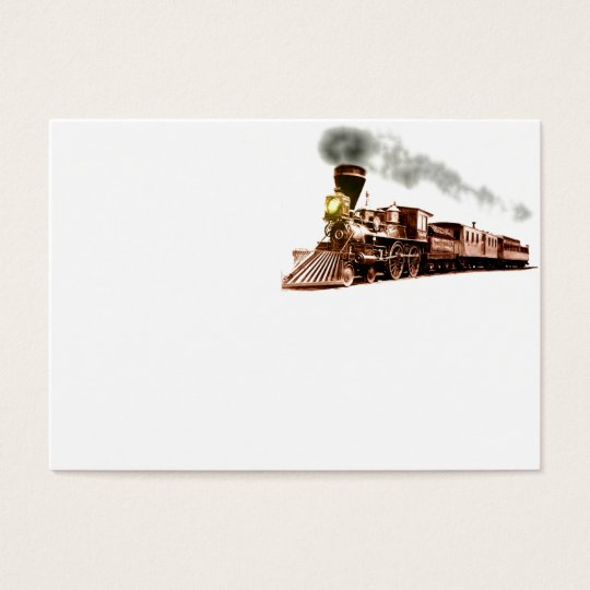Copper Train Business Card