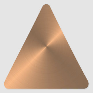 Copper Triangle Sticker