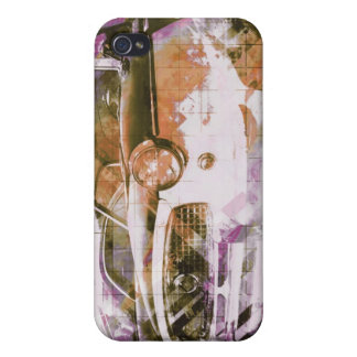 Coppol Car - pink orange iPhone 4/4S Covers