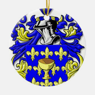 Coppola Coat of Arms Christmas Tree Ornament