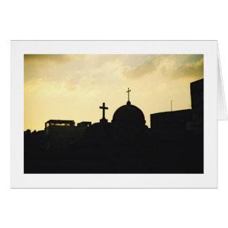 Coptic Cairo Note Card