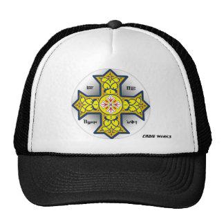 COPTIC CROSS TRUCKER HAT