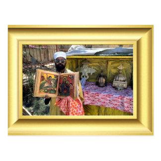Coptic Orthodox Gospels, Ethiopia Postcard