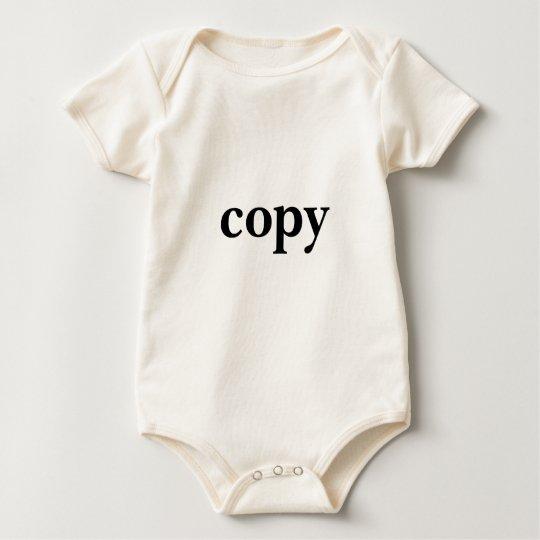 copy and paste baby bodysuit