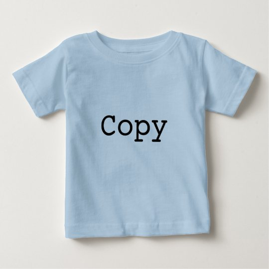 """Copy and Paste for Twins """"COPY"""" Baby T-Shirt"""