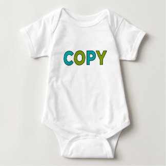 COPY - Copy & Paste for Twins Baby Bodysuit