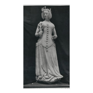 Copy of a statue of Isabella of Bavaria Posters