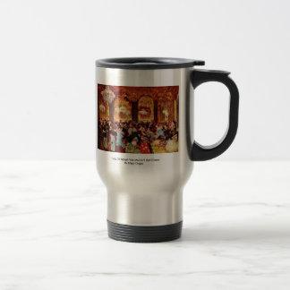 Copy Of Adolph Von Menzel'S Ball Dinner 15 Oz Stainless Steel Travel Mug