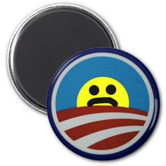 Copy of Obama-logo-712385 6 Cm Round Magnet