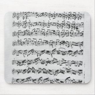 Copy of 'Partita in D Minor for Violin' Mouse Mat
