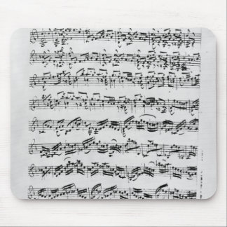 Copy of 'Partita in D Minor for Violin' Mouse Pad
