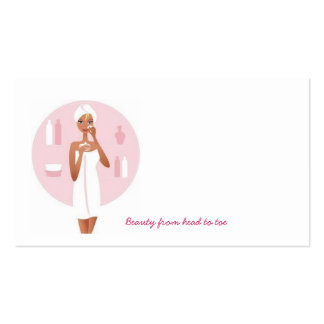 Copy of Prettylady, Beauty from head to toe Pack Of Standard Business Cards