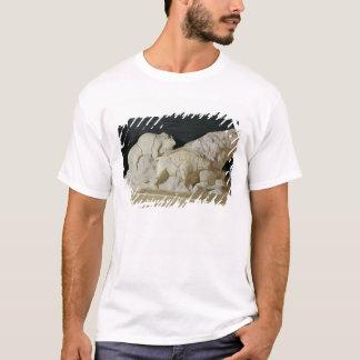 Copy of sculpture of bisons, Le T-Shirt
