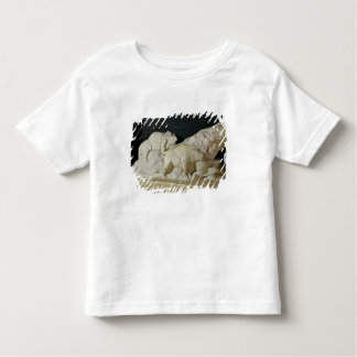 Copy of sculpture of bisons, Le Tee Shirts
