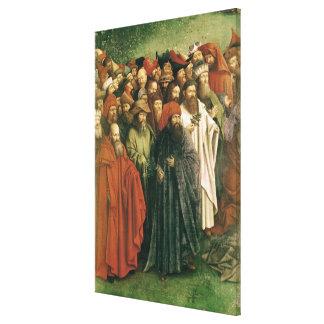 Copy of The Adoration of the Mystic Lamb Canvas Print
