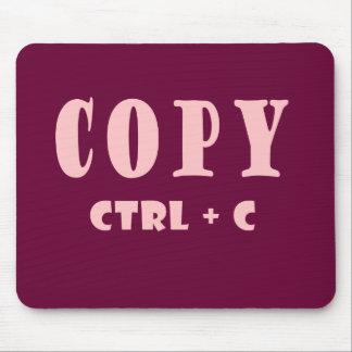 Copy Shortcut Key Mouse Mat