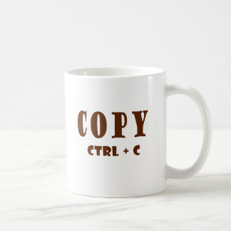 Copy Spreadsheet Document Basic White Mug