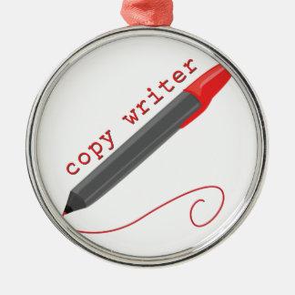 Copy Writer Christmas Ornament