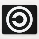 Copyleft - information wants to be free mouse pad