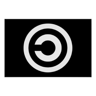 Copyleft - information wants to be free poster