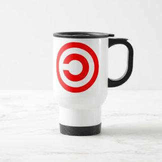 Copyleft Stainless Steel Travel Mug