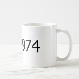 Copyright 1974 coffee mug